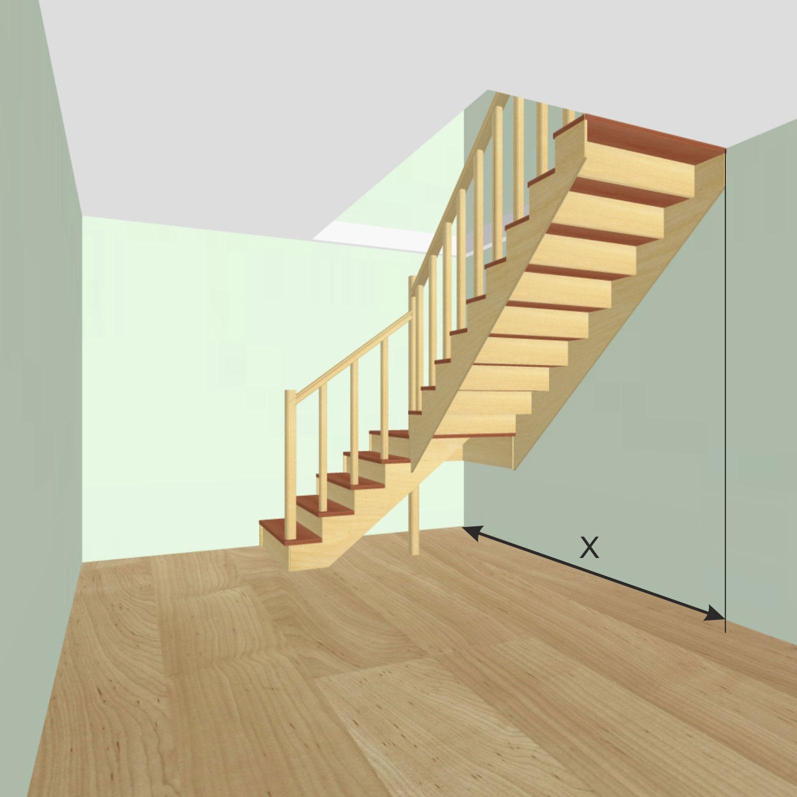Длина лестницы